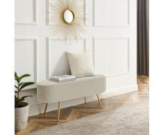 Leonique Bettbank Zirkon, Polsterbank in 3 Farben und Breiten erhältlich, auch als Garderobenbank geeignet beige Bettbänke Sitzbänke Stühle