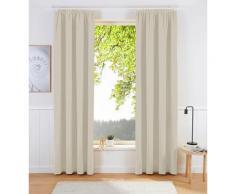 my home Verdunkelungsvorhang Sola, Breite 130 cm und 270 beige Wohnzimmergardinen Gardinen nach Räumen Vorhänge