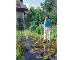 OASE Kescher, 113 - 180 cm Länge, für Gartenteiche grau Teichzubehör Teiche Garten Balkon Kescher