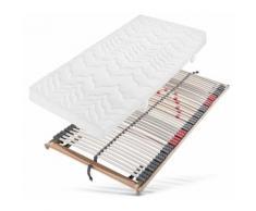 BeCo EXCLUSIV Komfortschaummatratze + Lattenrost Xtra Class M & Ultraflex KF, (Set, Set besteht aus 2 Teilen, Matratze und Lattenrost), Auch für höchste Belastungen geeignet (ohne farbbezeichnung) Allergiker-Matratzen Matratzen