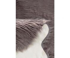 LeGer Home by Lena Gercke Fellteppich Lenja, tierfellförmig, 60 mm Höhe, Kunstfell, Wohnzimmer grau Wohnzimmerteppiche Teppiche nach Räumen