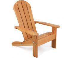 KidKraft Stuhl Adirondack beige Kinder Gartenmöbel Outdoor-Spielzeug Stühle