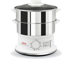 Tefal Dampfgarer VC1451; Timer und automatische Abschaltung; 24cm Durchmesser, 900 Watt weiß Küchenkleingeräte Haushaltsgeräte