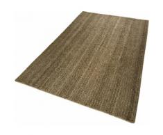 Teppich Feel Nature Esprit rechteckig Höhe 6 mm handgewebt, braun, braun