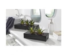 Creativ green Kunstkaktus grün Künstliche Zimmerpflanzen Kunstpflanzen Wohnaccessoires