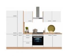OPTIFIT Küchenzeile ohne E-Geräte »Odense«, Breite 300 cm, weiß, weiß