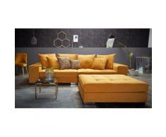 INOSIGN Big-Sofa Vale, goldfarben, goldfarben