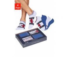 TOMMY HILFIGER Sneakersocken (Box, 4 Paar) weiß Herren Socken Herrenwäsche