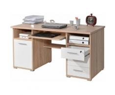 GERMANIA Schreibtisch 0484 beige Schreibtische Bürotische und Büromöbel Tisch