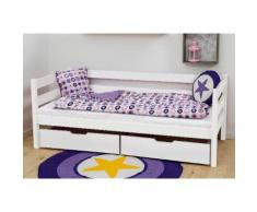 Hoppekids Einzelbett IDA-MARIE, (Set), inklusive Matratze weiß Kinder Kinderbetten Kindermöbel Betten