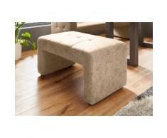exxpo - sofa fashion Polsterhocker, Breite 100 cm beige Polsterhocker Sessel und Hocker Sofas Couches