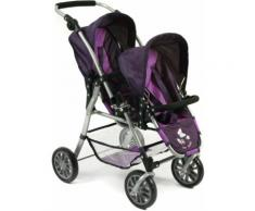 "CHIC2000 Puppen-Zwillingsbuggy ""TWINNY Pflaume"", lila, pflaume"