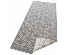 Läufer, Laila, my home, rechteckig, Höhe 5 mm, maschinell gewebt grau Küchenläufer Läufer Bettumrandungen Teppiche