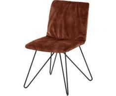 Villeroy & Boch Polsterstuhl MATEO braun 4-Fuß-Stühle Stühle Sitzbänke
