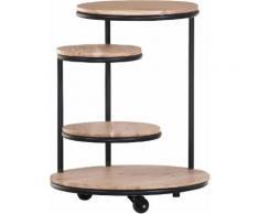Gutmann Factory Beistelltisch Firestone schwarz Beistelltische Tische Tisch