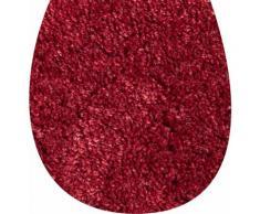 Grund Badematte Cover, Höhe 12 mm, rutschhemmend beschichtet, schnell trocknend rot Badtextilien
