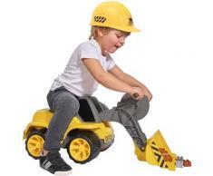 BIG Spielzeug-Bagger Power Worker Maxi Loader, Made in Germany gelb Kinder Ab 3-5 Jahren Altersempfehlung