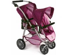 "CHIC2000 Puppen-Zwillingsbuggy ""VARIO Brombeere"", lila, lila"