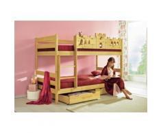 Silenta Etagenbett, Made in Germany beige Kinder Etagenbett Kindermöbel Möbel sofort lieferbar