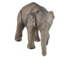 Home affaire Tierfigur Elefant grau Gartenfiguren Gartendekoration Gartenmöbel Gartendeko Dekofiguren