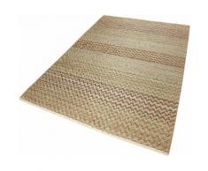 Teppich ZigZag Nature Esprit rechteckig Höhe 7 mm handgewebt, braun, braun