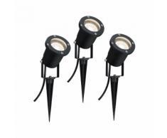 Paulmann LED Gartenstrahler Pflanzenleuchte mit Erdspieß 3x3,5W GU10 Schwarz, GU10, 1 St. schwarz LED-Lampen LED-Leuchten Lampen Leuchten sofort lieferbar