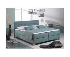 Home affaire Boxspringbett Fargo blau Doppelbetten Betten Komplettbetten