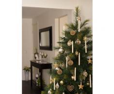 KONSTSMIDE LED Baumbeleuchtung, 5 Baumkerzen, Zusatzset weiß Lichterketten und Lichtschlauch Dekoleuchten Lampen Leuchten Saisonartikel Weihnachten