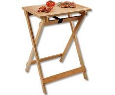 KESPER for kitchen & home Beistelltisch, (2 St.), mit abnehmbaren Tablett, zum Servieren und Tranchieren beige Beistelltische Tische Tisch