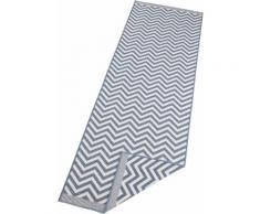 bougari Läufer Palma, rechteckig, 5 mm Höhe, In- und Outdoor geeignet, Wendeteppich blau Teppichläufer Bettumrandungen Teppiche