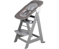 roba Hochstuhl Treppenhochstuhl 2-in-1 Set Miffy, Born Up grau Baby Mitwachsende Hochstühle Babymöbel Stühle