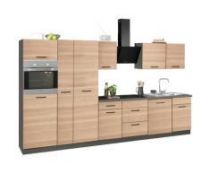 wiho Küchen Küchenzeile Esbo beige Küchenzeilen ohne Geräte -blöcke Küchenmöbel Arbeitsmöbel-Sets