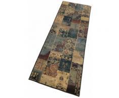 Oriental Weavers Läufer Idfu, rechteckig, 8 mm Höhe, Teppich-Läufer, gewebt, Patchwork Design, Orient-Optik blau Teppichläufer Teppiche und Diele Flur