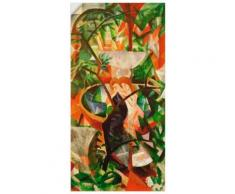 Artland Wandbild Mädchen vor dem Springbrunnen, Frau, (1 St.), in vielen Größen & Produktarten -Leinwandbild, Poster, Wandaufkleber / Wandtattoo auch für Badezimmer geeignet bunt Kunstdrucke Bilder Bilderrahmen Wohnaccessoires