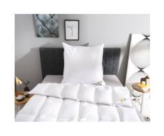 OBB Daunenbettdecke + Kopfkissen Edition 120 Jahre OBB, Bezug durch WESSLING KONTROLLIERTE QUALITÄT geprüft und ausgezeichnet weiß Daunendecke Bettdecken Bettdecken, Unterbetten Bettwaren-Sets
