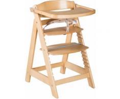 roba Hochstuhl Treppenhochstuhl Sit Up Click & Fun, natur, aus Holz beige Baby Mitwachsende Hochstühle Babymöbel Stühle
