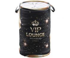 Sanilo Wäschekorb VIP-Lounge schwarz Badmöbel