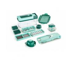 Genius Zerkleinerer Nicer Dicer Fusion grün Mixer Haushaltsgeräte Elektrogeräte