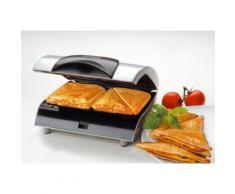 Steba Sandwichmaker SG 20, 700 Watt silberfarben Küchenkleingeräte Haushaltsgeräte
