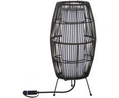 Paulmann LED Gartenleuchte Outdoor Plug & Shine classic light basket, 1 St., Warmweiß, 3000K 24V IP44 40*20cm schwarz Außenleuchten Lampen Leuchten sofort lieferbar