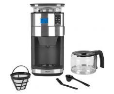 BEEM Kaffeemaschine mit Mahlwerk Fresh-Aroma-Perfect II - Glas, Permanentfilter, 1x4 schwarz Kaffee Espresso SOFORT LIEFERBARE Haushaltsgeräte