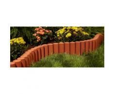 Prosperplast Palisade rot Rasen- Beetbegrenzung Gartendekoration Gartenmöbel Gartendeko