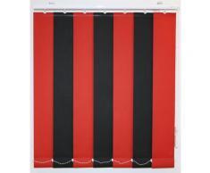 sunlines Lamellenvorhang nach Maß, mit weißen Verbindungsketten, Ohne Teilung rot Lamellen Rollos Jalousien Maß
