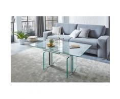 Vierhaus Couchtisch, höhenverstellbar farblos Couchtische eckig Tische Tisch