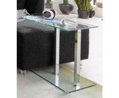 HAKU Beistelltisch, in moderner Glasoptik grau Beistelltisch Beistelltische Tische