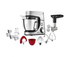 Krups Küchenmaschine KA631D Master Perfect Gourmet, 1100 Watt, Schüssel 4,6 Liter silberfarben Multifunktionsküchenmaschinen Küchenmaschinen Haushaltsgeräte ohne Kochfunktion