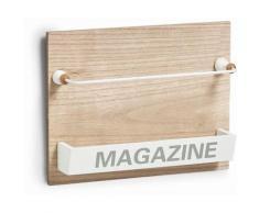 Zeller Wand-Magazinhalter Nordic, weiß