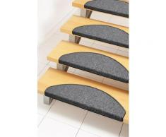 Stufenmatte Bob Andiamo stufenförmig Höhe 45 mm maschinell getuftet, grau, anthrazit