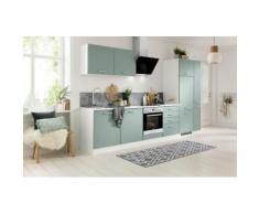 HELD MÖBEL Spülenschrank Visby, Breite 60 cm, inkl. Tür/Sockel für Geschirrspüler grün Spülenschränke Küchenschränke Küchenmöbel