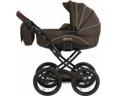 knorr-baby Kombi Kinderwagen Set, »Classico, braun«, braun, Unisex, braun